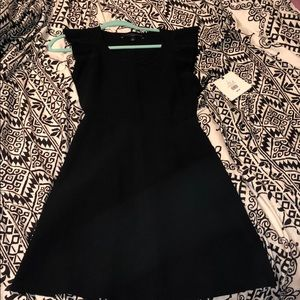 Black Victoria Beckham dress
